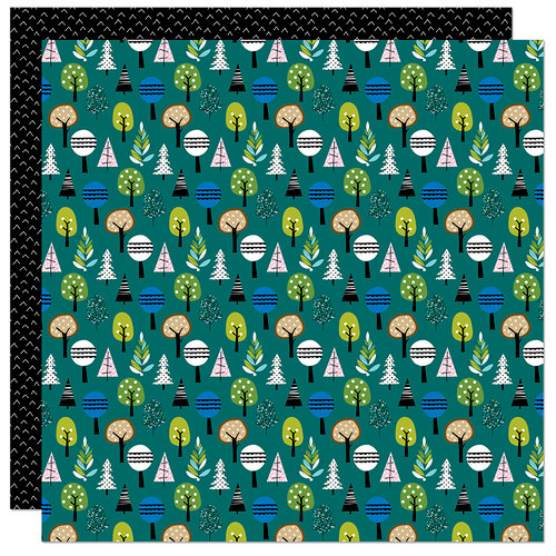 Bella Blvd - Let's Go On An Adventure Collection - 12 x 12 Double Sided Paper - In the Woods
