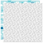 Bella Blvd - Let's Go On An Adventure Collection - 12 x 12 Double Sided Paper - No Wifi Script