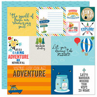 Bella Blvd - Let's Go On An Adventure Collection - 12 x 12 Double Sided Paper - Daily Details
