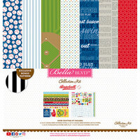 Bella Blvd - Baseball Collection - 12 x 12 Collection Kit