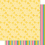 Bella Blvd - Squeeze The Day Collection - 12 x 12 Double Sided Paper - Bananas For You