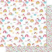 Bella Blvd - Squeeze The Day Collection - 12 x 12 Double Sided Paper - Sweet Skies