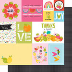 Bella Blvd - Squeeze The Day Collection - 12 x 12 Double Sided Paper - Daily Details