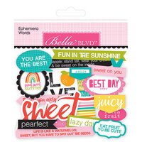 Bella Blvd - Squeeze The Day Collection - Ephemera - Words