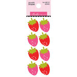 Bella Blvd - Squeeze The Day Collection - Acrylic Shapes - Berries