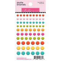 Bella Blvd - Squeeze The Day Collection - Matte Enamel Stickers - Fruity Mix