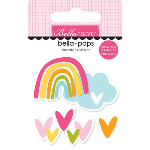 Bella Blvd - Squeeze The Day Collection - Stickers - Bella Pops - Follow The Rainbow