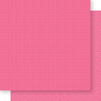 Bella Blvd - Bella Besties Collection - 12 x 12 Double Sided Paper - Punch Graph and Dot