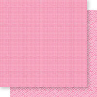 Bella Blvd - Bella Besties Collection - 12 x 12 Double Sided Paper - Peep Graph and Dot