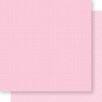 Bella Blvd - Bella Besties Collection - 12 x 12 Double Sided Paper - Cotton Candy Graph and Dot