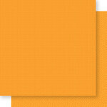 Bella Blvd - Bella Besties Collection - 12 x 12 Double Sided Paper - Orange Graph and Dot