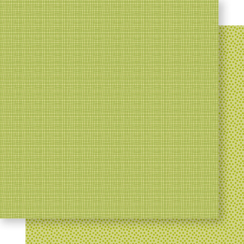 Bella Blvd - Bella Besties Collection - 12 x 12 Double Sided Paper - Pickle Juice Graph and Dot