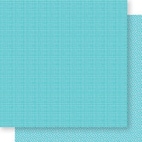 Bella Blvd - Bella Besties Collection - 12 x 12 Double Sided Paper - Ice Graph and Dot