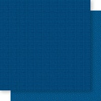 Bella Blvd - Bella Besties Collection - 12 x 12 Double Sided Paper - Blueberry Graph and Dot