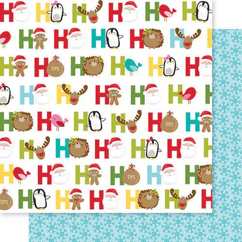 Bella Blvd - Santa Squad Collection - 12 X 12 Double Sided Paper - Ho Ho Ho
