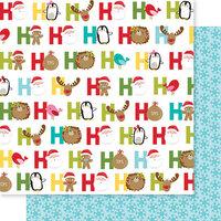Bella Blvd - Santa Squad Collection - 12 X 12 Double Sided Paper - Ho! Ho! Ho!