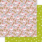 Bella Blvd - Santa Squad Collection - 12 X 12 Double Sided Paper - Christmas Chaos