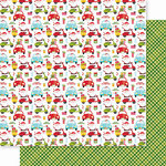 Bella Blvd - Santa Squad Collection - 12 X 12 Double Sided Paper - Santa Delivers