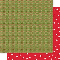 Bella Blvd - Santa Squad Collection - 12 X 12 Double Sided Paper - Candy Canes