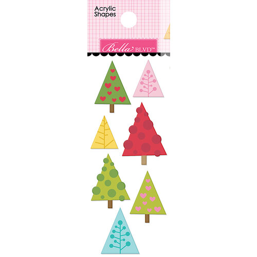Bella Blvd - Santa Squad Collection - Acrylic Shapes - Trees