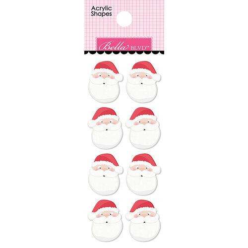 Bella Blvd - Santa Squad Collection - Acrylic Shapes - Santas
