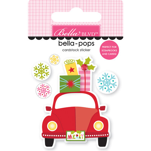 Bella Blvd - Santa Squad Collection - Stickers - Bella Pops - Home For Christmas