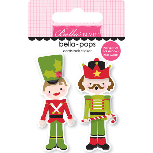 Bella Blvd - Santa Squad Collection - Stickers - Bella Pops - Nutty Or Nice