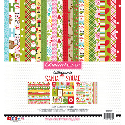 Bella Blvd - Santa Squad Collection - 12 x 12 Collection Kit