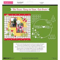 Bella Blvd - Santa Squad Collection - Cut Outs - Wreath
