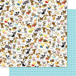 Bella Blvd - Cooper Collection - 12 x 12 Double Sided Paper - Dog Pack