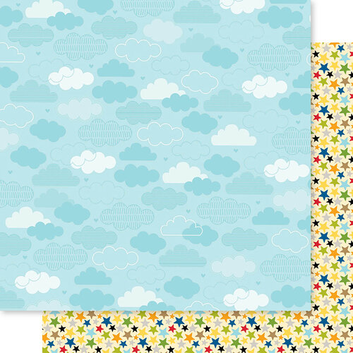 Bella Blvd - Cooper Collection - 12 x 12 Double Sided Paper - Play Time