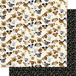 Bella Blvd - Cooper Collection - 12 x 12 Double Sided Paper - Puppers