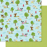 Bella Blvd - Cooper Collection - 12 x 12 Double Sided Paper - Dog Park