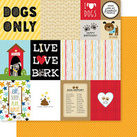 Bella Blvd - Cooper Collection - 12 x 12 Double Sided Paper - Daily Details