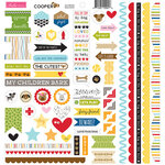 Bella Blvd - Cooper Collection - Doohickey - 12 x 12 Cardstock Stickers