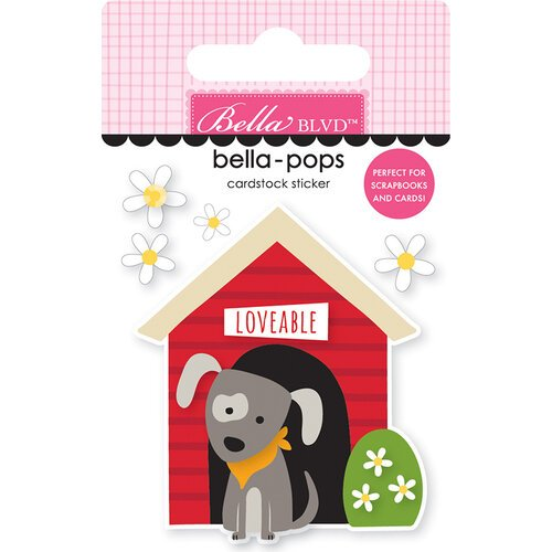 Bella Blvd - Cooper Collection - Stickers - Bella Pops - Doghouse