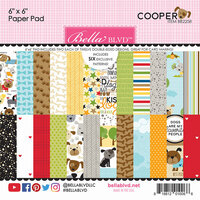 Bella Blvd - Cooper Collection - 6 x 6 Paper Pad