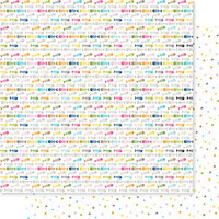 Bella Blvd - Chloe Collection - 12 x 12 Double Sided Paper - Fat and Sassy