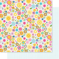 Bella Blvd - Chloe Collection - 12 x 12 Double Sided Paper - Smitten