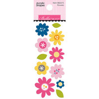 Bella Blvd - Chloe Collection - Acrylic Shapes - Flowers