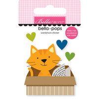 Bella Blvd - Chloe Collection - Stickers - Bella Pops - Cat in a Box