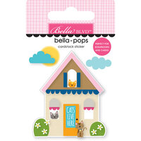 Bella Blvd - Chloe Collection - Stickers - Bella Pops - Cat House