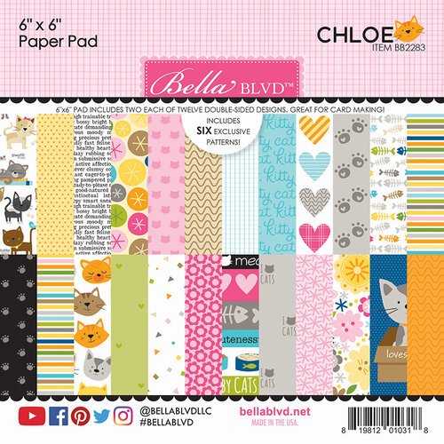 Bella Blvd - Chloe Collection - 6 x 6 Paper Pad