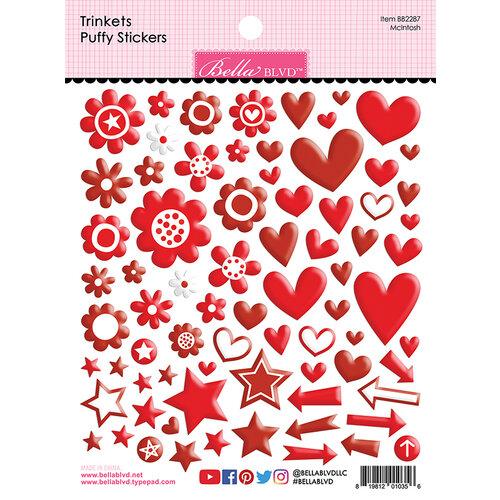 Bella Blvd - Besties Collection - Puffy Stickers - McIntosh Trinkets