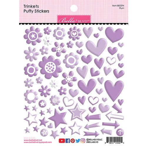 Bella Blvd - Besties Collection - Puffy Stickers - Plum Trinkets