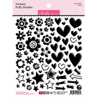 Bella Blvd - Besties Collection - Puffy Stickers - Black Trinkets