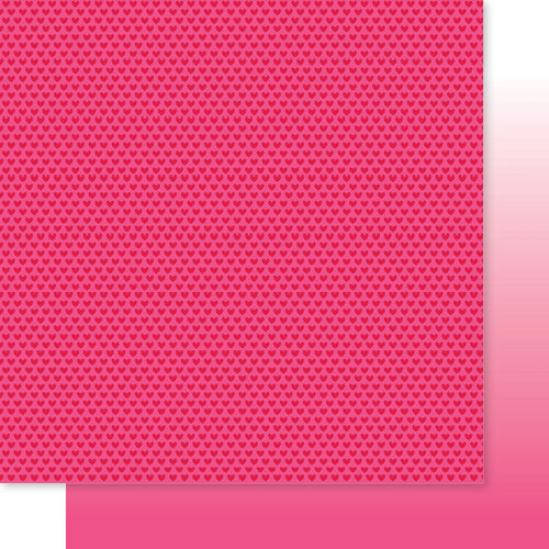 Bella Blvd - Besties Collection - 12 x 12 Double Sided Paper - Punch Hearts & Ombre