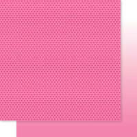 Bella Blvd - Besties Collection - 12 x 12 Double Sided Paper - Peep Hearts & Ombre