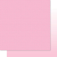 Bella Blvd - Besties Collection - 12 x 12 Double Sided Paper - Cotton Candy Hearts & Ombre