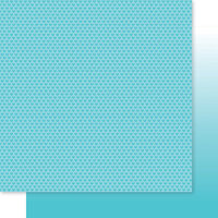 Bella Blvd - Besties Collection - 12 x 12 Double Sided Paper - Ice Hearts & Ombre